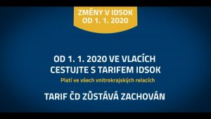 Ještě jednodušší cestování od 1. 1. 2020 1