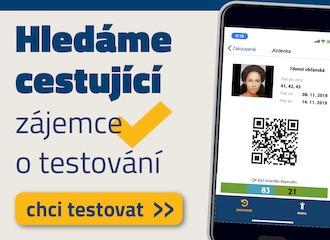 Hledáme cestující - zájemce o testování mobilní aplikace MobilOK