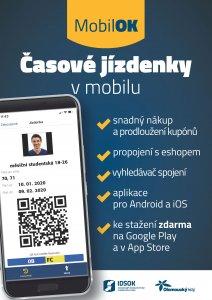 Ilustrační foto - MobilOK – časové jízdenky v nové mobilní aplikaci - IDSOK 6