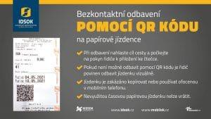 Způsoby bezkontaktního odbavení v IDSOK 1