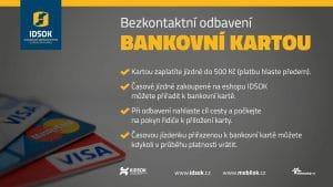 Způsoby bezkontaktního odbavení v IDSOK 3