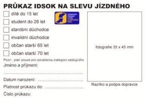 Ilustrační foto - Slevy jízdného - IDSOK 17